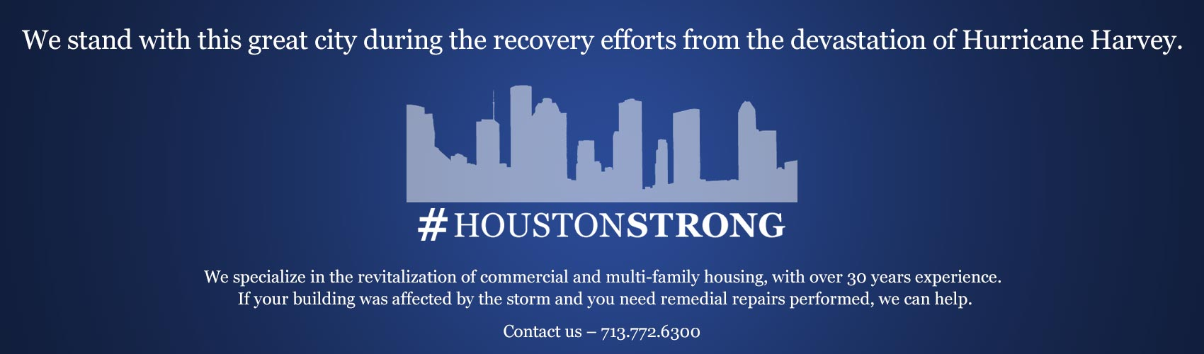 EDI Stands HoustonStrong!